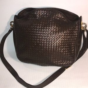 Handbags - Vintage Ganson Woven Leather Purse